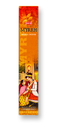 HEM Myrrh Masala Incense - 12 Stick Box