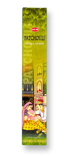 HEM Patchouli Masala Incense - 12 Stick Box