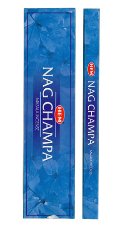 HEM Nag Champa Incense - 8 gram Boxes