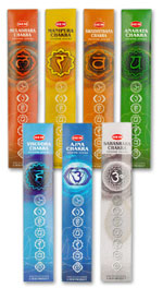Hem Seven Chakras Incense Set - 35 Sticks