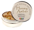 Gourmet Resin Incense - Honey Amber 1.5 oz. Tin