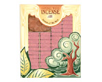 Incienso de Santa Fe - Cedar Incense - 100 Bricks with Holder