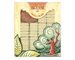 Incienso de Santa Fe - Fir Balsam Incense - 100 Bricks with Holder
