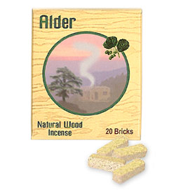Incienso de Santa Fe - Alder Incense - 20 Bricks