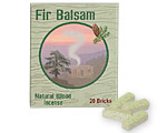 Incienso de Santa Fe - Fir Balsam Incense - 20 Bricks