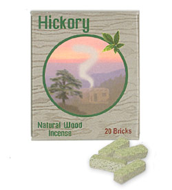 Incienso de Santa Fe - Hickory Incense - 20 Bricks