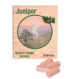 Incienso de Santa Fe - Juniper Incense - 20 Bricks