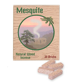 Incienso de Santa Fe - Mesquite Incense - 20 Bricks