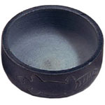 Charcoal Burner - Inscribed Dreamtime Soapstone Lizard Bowl Charcoal Burner