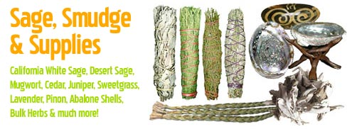 Sage, Smudge & Supplies