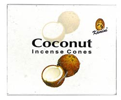 Kamini Cone Incense - Coconut Incense Cones
