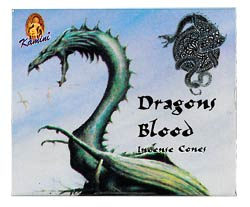 Kamini Cone Incense - Dragon's Blood Incense Cones