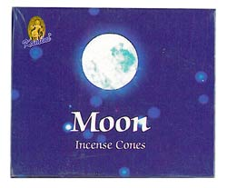 Kamini Cone Incense - Moon Incense Cones
