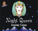 Kamini Cone Incense - Night Queen Incense Cones