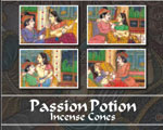 Kamini Cone Incense - Passion Potion Incense Cones