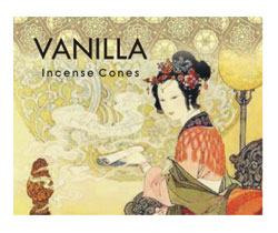 Kamini Cone Incense - Vanilla Incense Cones