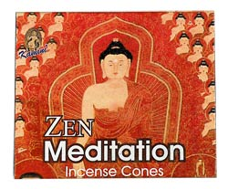 Kamini Cone Incense - Zen Meditation Incense Cones