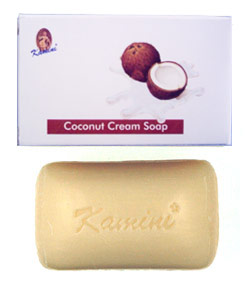 Kamini Coconut Cream Soap - 100gr.