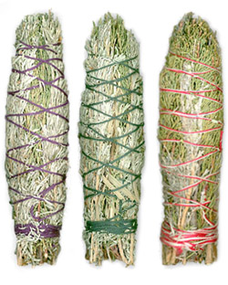 "Premium Large Smudge Bundle Sampler - 8"" (Mountain Journey, Lavender Fields & Ceremonial Sweetcense)"