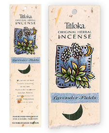 Triloka Original Herbal Incense - Lavender Fields Incense