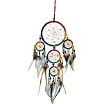 Dreamcatcher - Leather Rainbow Dream Catcher