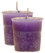 Lilac Crystal Journey Traditional Votive Candle - 2 Candles