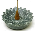 Soapstone Incense Burner - Lotus