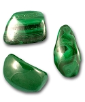 Malachite Tumbled & Polished Gemstone