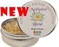 Gourmet Resin Incense - Meditation Blend 1.5 oz. Tin
