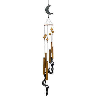 Wind Chimes - Bamboo Windchime Moon Goddess