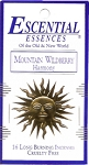 Escential Essences Incense - Mountain Wildberry