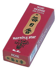 Morning Star Incense - Rose Incense 200 Stick Box
