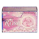 Satya Nag Champa Fresh Rose Soap