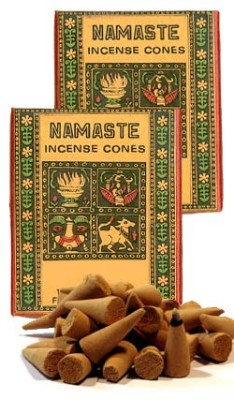 Namaste Incense Cones - Rose