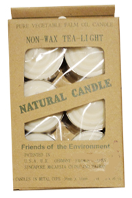 Tea Light Candles - Natural White Tea Light
