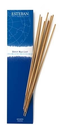 Esteban Note Marine Incense Sticks - 20 Bamboo Sticks
