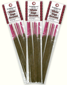 Native Scents Incense - White Sage Incense