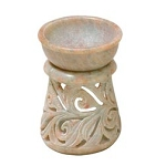 Oil Burner - Soapstone Magic Beanstalk