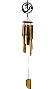 Wind Chimes - Om Bamboo Wind Chime