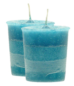 One Love Crystal Journey Traditional Votive Candle - 2 Candles
