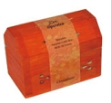Wooden Cone Incense Box Burner - Orange/Cinnamon