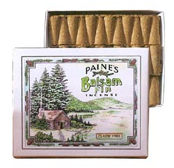 Paine's Balsam Fir Classic Cones - 32 w/Holder