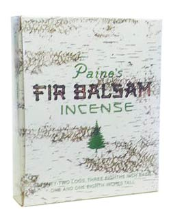 Paine's Fir Balsam Incense - 72 Logs