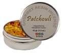 Gourmet Resin Incense - Patchouli 1.5 oz. Tin