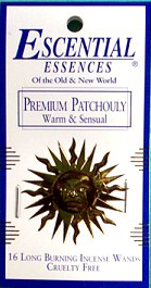Escential Essences Incense - Patchouli