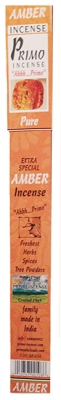 Primo Incense - Amber Connoiseur Incense