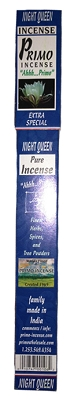 Primo Incense - Night Queen Incense