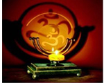 Candle Holder - OM Adjustable Projection Candle holder