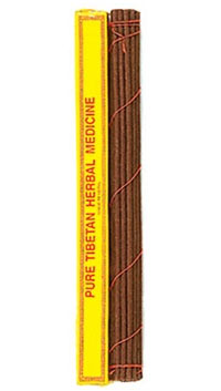 Pure Tibetan Herbal Incense - 25 Sticks - 11""