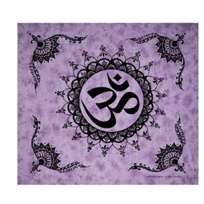 Purple Om Tapestry